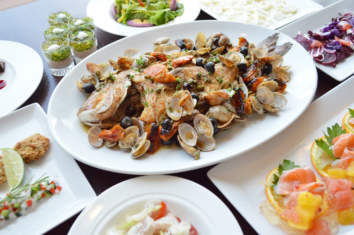 野菜とお魚のヘルシーコース
